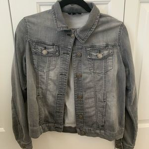 Dark Gray Jean Jacket